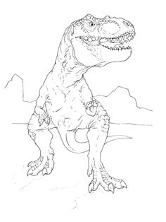 T Rex Coloring Pages . 30 Lovely T Rex Coloring Pages . Dinosaur T Rex Coloring Pages Toy Story Coloring Pages, Food Coloring Pages, Coloring Book App, Puppy Coloring Pages, Dinosaur Coloring Pages, Coloring Pages To Print, Free Printable Coloring Pages, Adult Coloring Pages, Coloring Pages For Kids