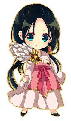 Character: Ren Hakuei from Manga, Anime: Magi The Labyrinth of Magic, Chibi Version