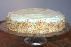 Kokos- og limekage Vanilla Cake, Mousse, Frosting, Lime, Desserts, Cheesecake, Food, Cheesecake Cake, Postres