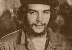 el che. viva la revolucion.He's not a great person but we always love the bad boy.