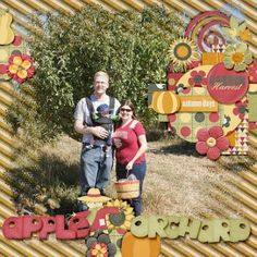 apple orchard (Custom) Crazy Monkey V6 and Twin Mom Scraps Garden Harvest