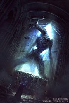 ArtStation - Nyarlathotep, Richard Luong