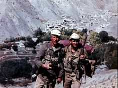 Russian soldiers Afghanistan 1980's.