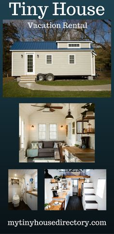 mytinyhousedirectory: Tiny House Vacation Rental on a working farm, Beautiful!
