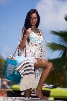 Women's beach and sun fashion