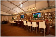 One of our set ups from the Masters in Augusta, GA - photographed by sallykolar.com | beachview.net
