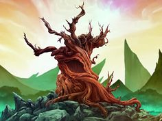 The Tree of Time is an ancient tree located in the Spirit World, centered between the two spirit. Two Spirit, Dark Spirit, Spirit World, Avatar Tree, Avatar Wan, Avatar Tattoo, Avatar Quotes, Avatar World, Avatar The Last Airbender Art