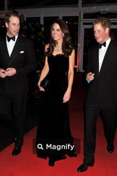 Kate Middleton, William and Harry