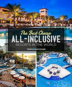 21 of the Best Cheap All-Inclusive Resorts in the World - If you're looking for an all-inclusive vacation that won't break the bank, these best-ever bargain-priced all-inclusives are sure to fit the bill. Vacation Places, Dream Vacations, Vacation Trips, Vacation Spots, Places To Travel, Travel Destinations, Places To Visit, Romantic Vacations, Romantic Travel