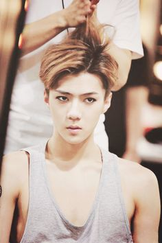 #Sehun #Sehunnie #Hair #Model #Kpop #Exo