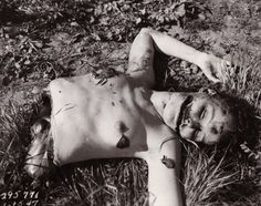 Death and Autopsy photos of Elizabeth Short aka The Black Dahlia with all the morbid details. Includes details and photos about the crime scene in Liemert Park, Los Angeles California.