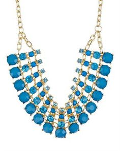 Olivia Welles Egyptian Style Large Statement Necklace 1