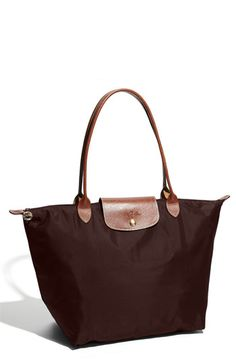 Work Tote - Longchamp in Chocolate Brown.  Pulled the trigger on this one during a Friends & Family sale!