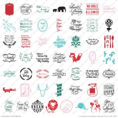 On The Blog Cricut Home Decor Vinyl Wall Art Universal Overlay Cartridge Shop