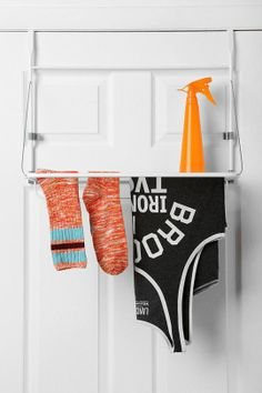 """So over it""..small space over the door storage solutions from apartment therapy"