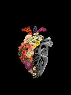 A Heart full of Flowers – The post A Heart full of Flowers – appeared first on Woman Casual - Makeup Recipes Heart Iphone Wallpaper, Apple Watch Wallpaper, Cool Wallpaper, Wallpaper Backgrounds, Mobile Wallpaper, Colorful Wallpaper, Black Wallpaper, Iphone Wallpapers, Animal Wallpaper