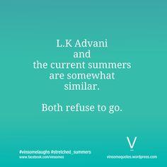 Humor, Indian Politics, Climate