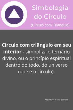 Círculo com Triângulo Magic Symbols, Good Vibes, Wicca, Witchcraft, Reiki, Geometric Fashion, Alternative Health, Book Of Shadows, Words