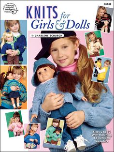 "Knitting - Doll Patterns - 18"" Doll Patterns - Knits for Girls & Dolls"