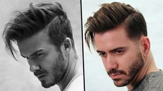DAVID BECKHAM HAIRSTYLE TUTORIAL | How To Style Men's Hair 2017 | Alex Costa - YouTube