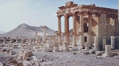 ISIS Palmyra ruins | in Palmyra, Syria, seen in a file image dating back to 1960. ISIS ...