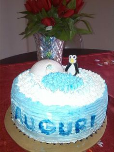 Torta pinguino
