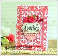 Hello friends, thanks so much for stopping by. It is a lovely Saturday morning here in the Nations Capital and I have been enjoying some . Especially For You, Spellbinders Cards, Saturday Morning, Blog, Crafts, Decor, Blue Prints, Manualidades, Decoration