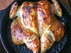 Dinner Tonight: Jacques Pépin's Quick-Roasted Chicken via seriouseats #Chicke #Jacques_Pepin