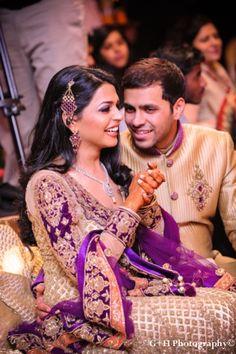indian-wedding-engagement-party-maharani-purple-gold