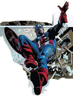 Captain America by Luke Ross