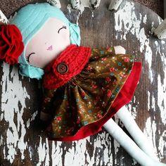 "completely lush ❤ SpunCandy Handmade Doll  #spuncandydolls #handmadedoll #clothdoll #weloveragdolls #etsykids #etsyfinds #handmadedolls #fabricdoll #clothdoll…"""