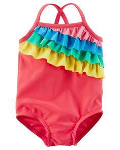 Baby Girl Carter's Rainbow Swimsuit   Carters.com