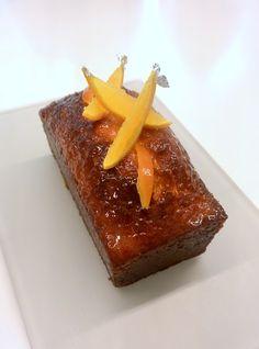 """""""Cake à l'orange"""" réalisé par Marie Meunier lors du cours """"Autour des cakes d'enfer"""" à la Michalak Masterclass"""