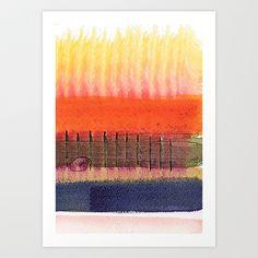 Painterly Stripes 9 by Marianna Shomero