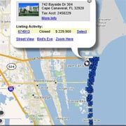 Check out Property Values in Mims/Titusville
