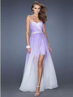 A-Line/Princess Sweetheart Beading Chiffon Floor-Length Dresses
