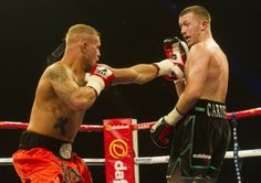 Lytham boxer Scott Cardle gave the best performance of his career to date as he came out on top in the battle of the area champions