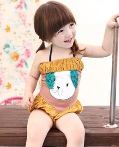 I like this swimming suit... it has potential to become something fabulous for a big girl.