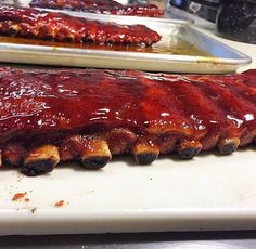 How could anyone say no to ribs?  @unknown_barbeque