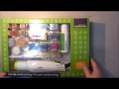 Unboxing: Set de embossing de Lidl ¿merece la pena? - YouTube Lidl, Emboss, Offices, Youtube, Heaven, Scrapbooking, How To Make, Book Reviews, Stamps