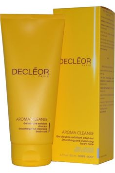 Decleor Aroma Cleanse Smoothing & Cleansing Body Care is the ideal daily exfoliating treatment with a clever 2-in-1 action.