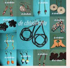 pendientes todos en venta..pieza unica Washer Necklace, Jewelry, Ear Jewelry, Messages, Hipster Stuff, Jewellery Making, Jewelery, Jewlery, Jewels