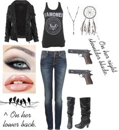 """""""Supernatural Hunter; Only You #1"""" by just-a-breakable-thread ❤ liked on Polyvore"""