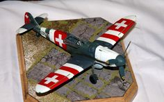 Swiss Bf-109, East Midlands Model Show 2015. | by Roly-sisaphus