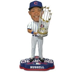 Addison Russell Chicago Cubs 2016 World Series Bobbleheads