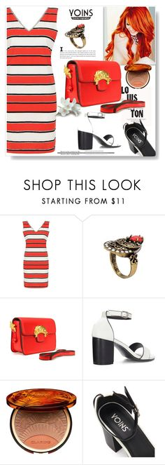 """Yoins 30"" by lila2510 ❤ liked on Polyvore featuring Louis Vuitton, Clarins, yoins, yoinscollection and loveyoinsJoin"