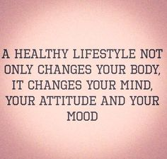 YES! Healthy people are happy people! And, that does NOT mean that you are not allowed to indulge in the unhealthy, or miss out. It means you have enough self control to do things in moderation.