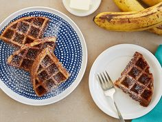 Waffled Banana Bread Recipe : Food Network Kitchen : Food Network - FoodNetwork.com