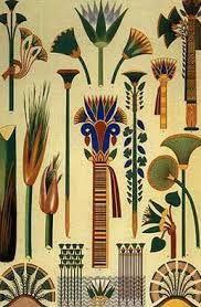 lotus in egyptian paintings