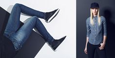Matt Baldwin | Baldwin Denim feature on Made in the Middle Baldwin Denim, The Middle, Women's Fashion, Pants, Trouser Pants, Fashion Women, Womens Fashion, Women's Pants
